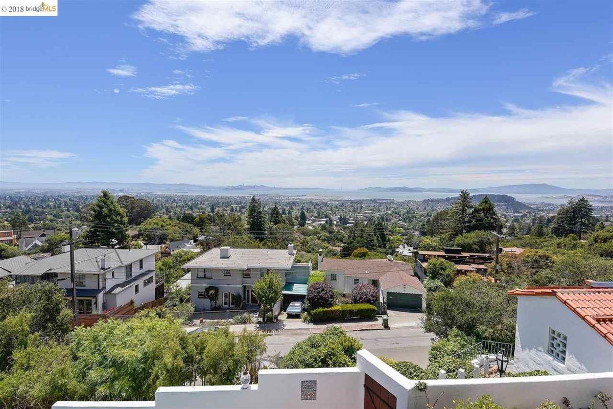 retreat in the heart of the North Berkeley Hills luxury properties