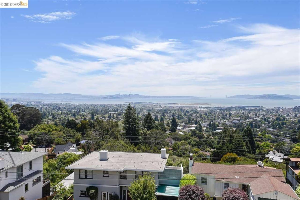 Mansions retreat in the heart of the North Berkeley Hills