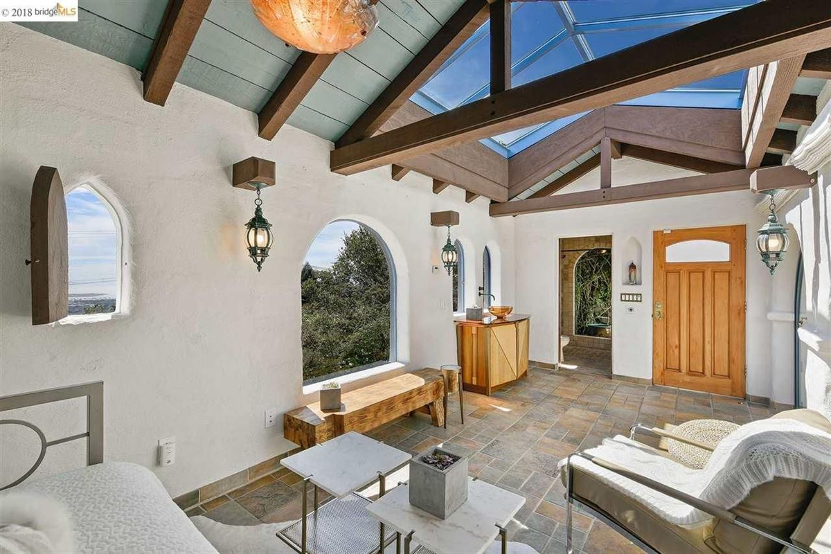 retreat in the heart of the North Berkeley Hills luxury homes