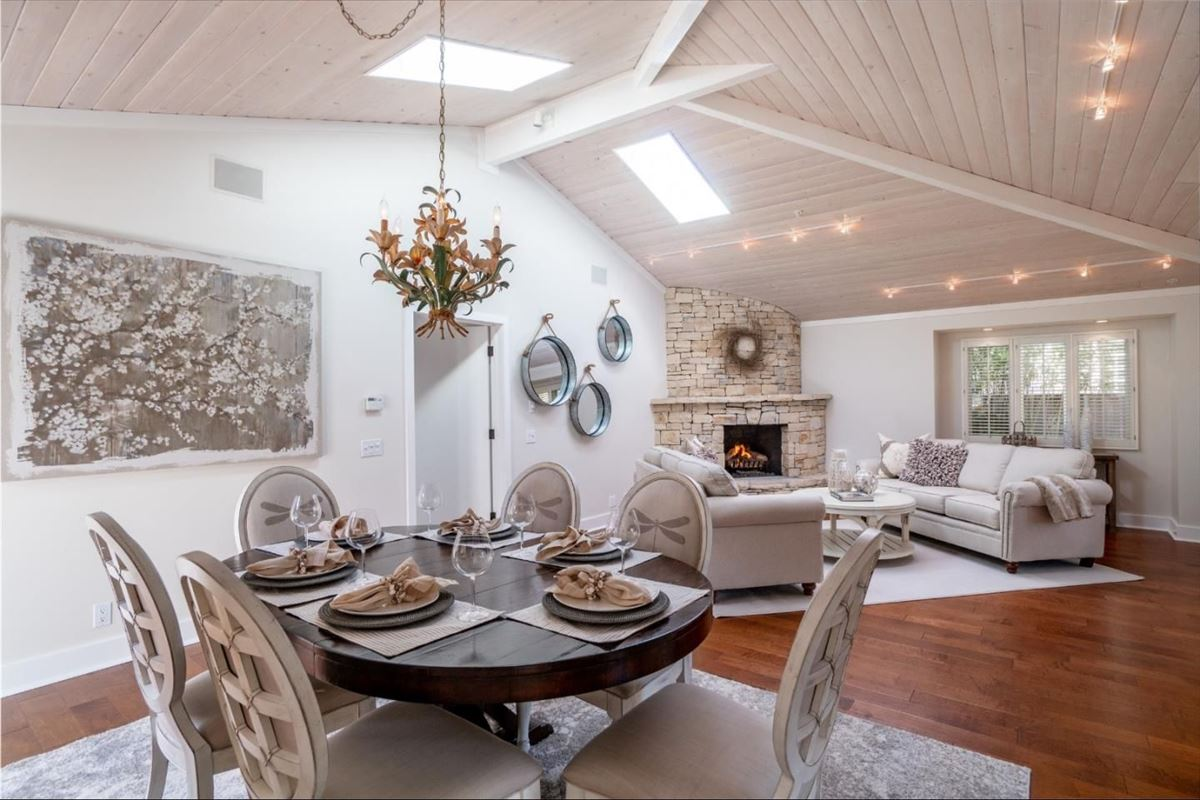 Luxury properties remodeled Carmel Point home