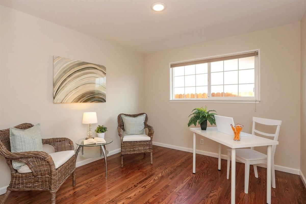 Luxury real estate coveted Birdland neighborhood in santa clara