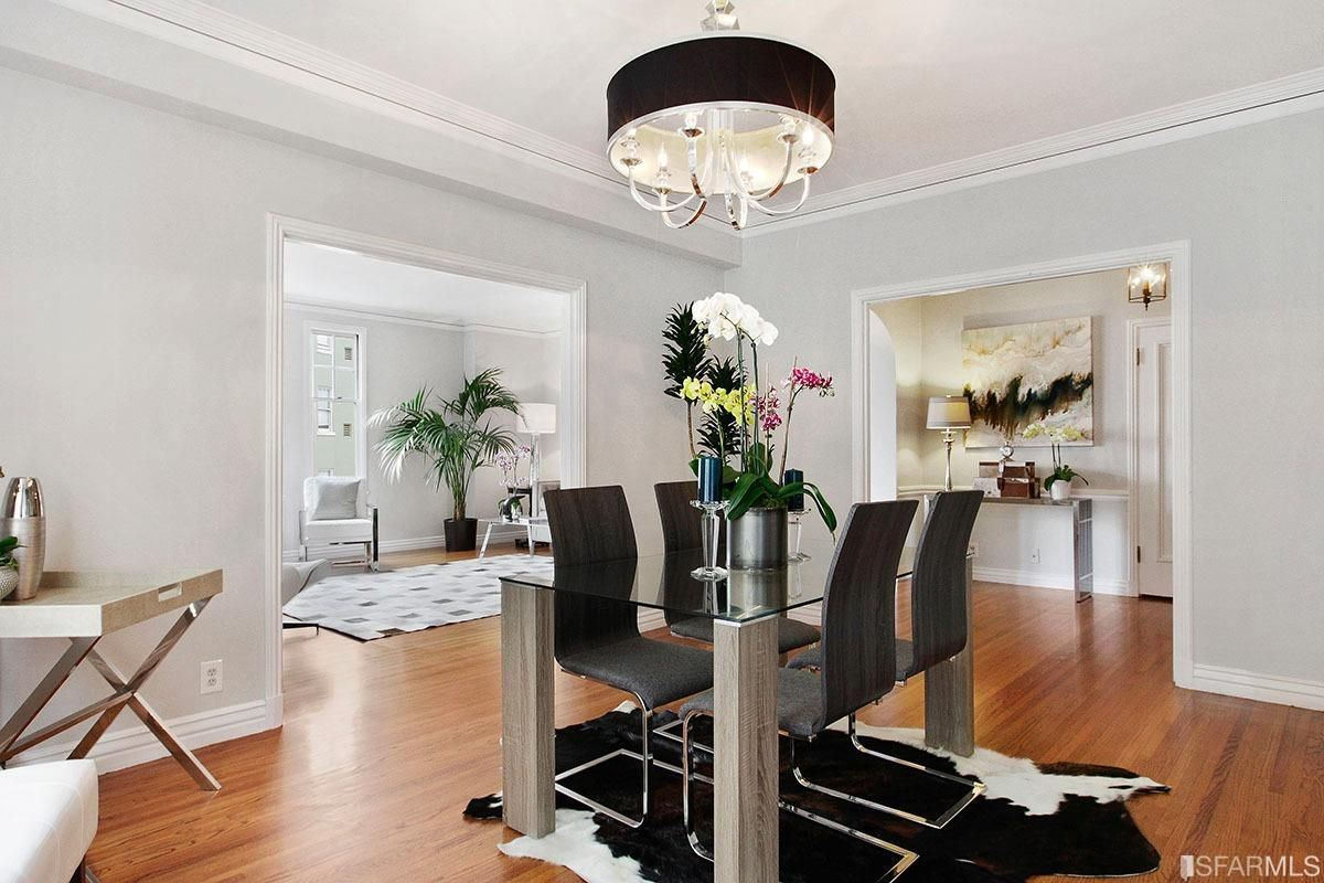 Luxury real estate Stylish elegance and grand scale in san francisco