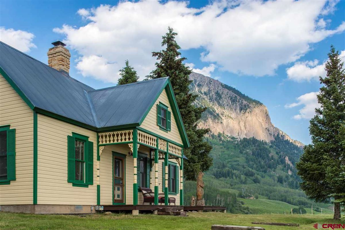 Mansions in Crested Butte, a longtime landmark for local residents and visitors