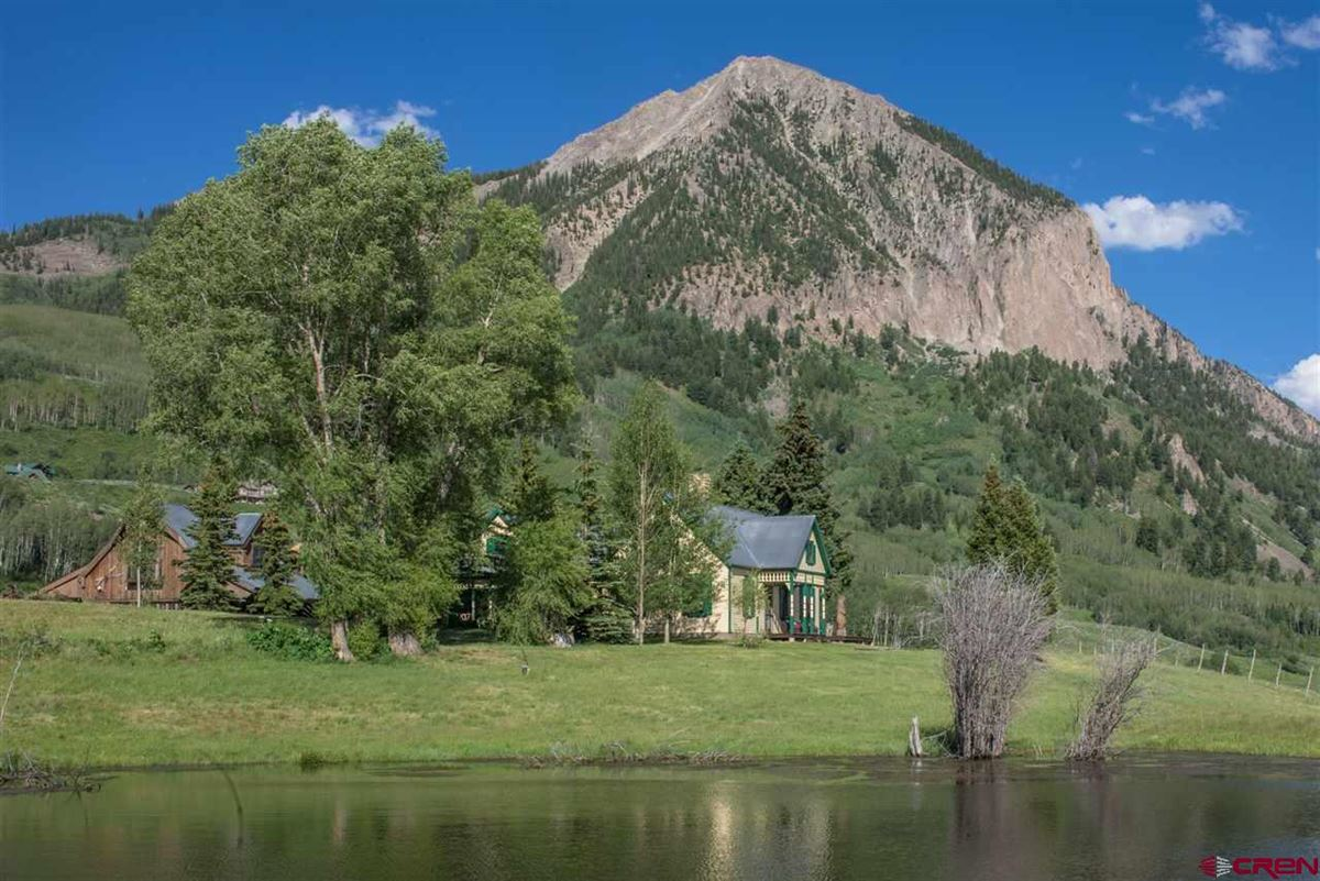 Luxury real estate Crested Butte, a longtime landmark for local residents and visitors