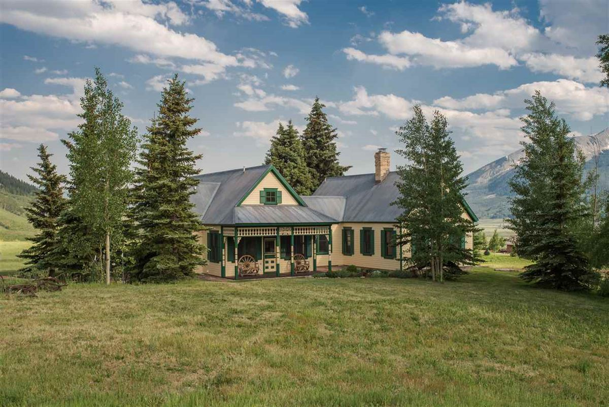 Luxury properties Crested Butte, a longtime landmark for local residents and visitors