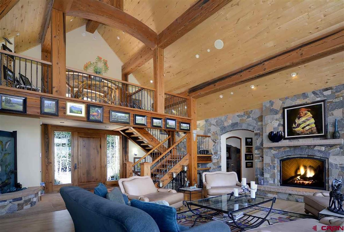 Luxury properties exquisite and unique mountain home