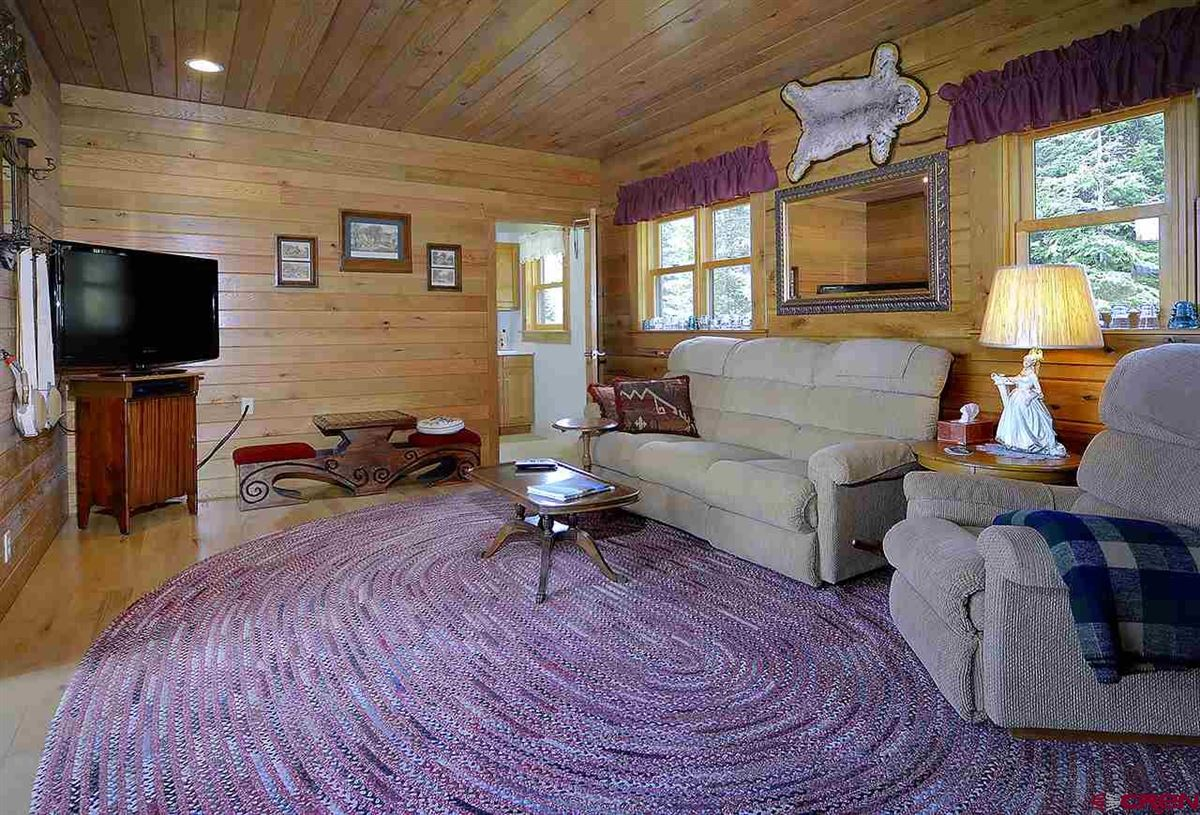 Luxury properties Three-story Oak Log Sided Home Boasts Grand Views