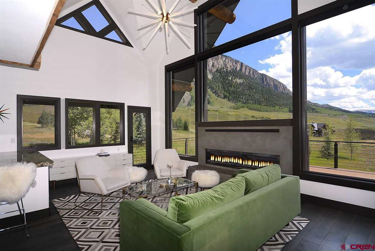 Luxury homes contemporary, mountain rustic home