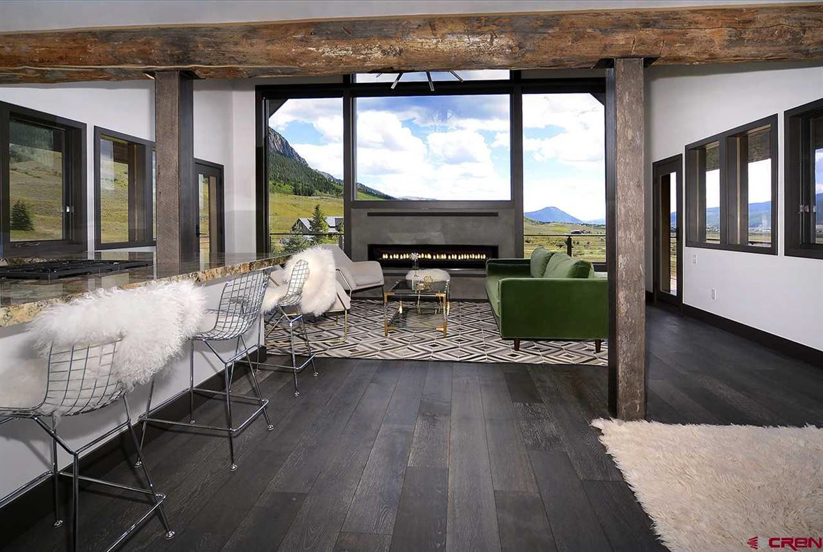 contemporary, mountain rustic home  luxury homes