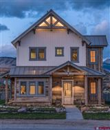 Premier views will astound you from this newly built home in Crested Butte luxury real estate