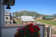 Mansions Premier views will astound you from this newly built home in Crested Butte