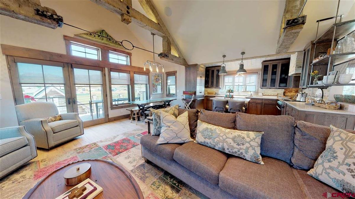 Premier views will astound you from this newly built home in Crested Butte luxury homes