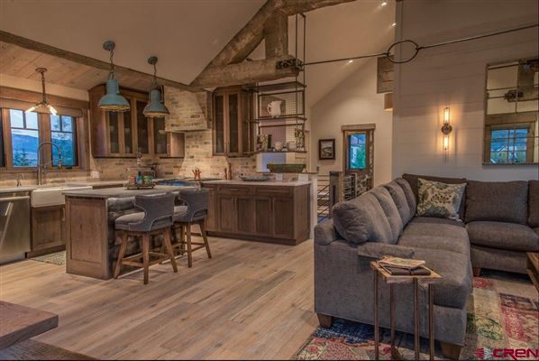 Luxury real estate Premier views will astound you from this newly built home in Crested Butte