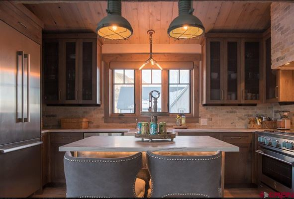 Luxury properties Premier views will astound you from this newly built home in Crested Butte