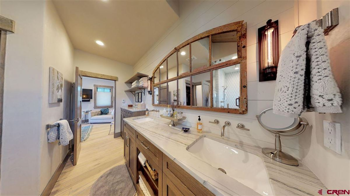 Premier views will astound you from this newly built home in Crested Butte luxury properties