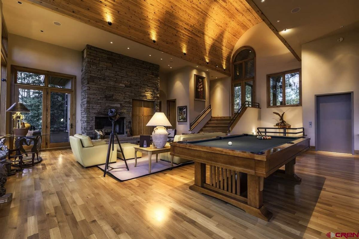 refined mountain home with commanding views luxury homes