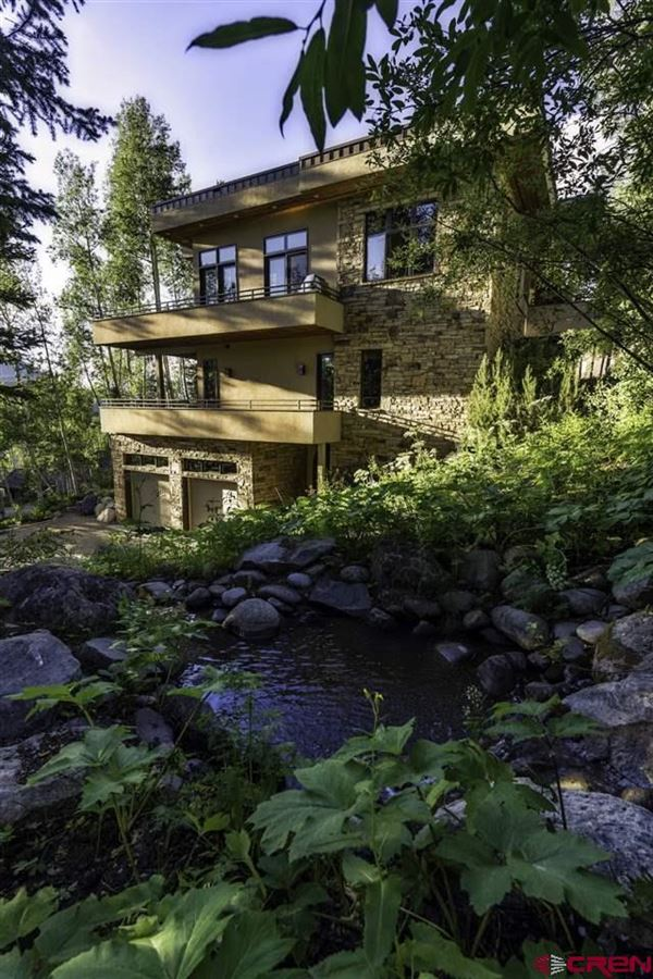 Luxury real estate refined mountain home with commanding views