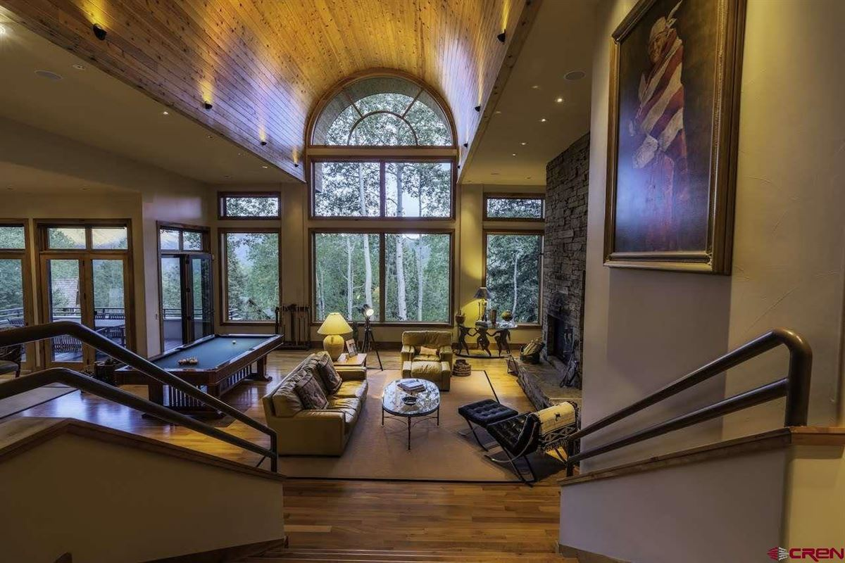 refined mountain home with commanding views luxury real estate