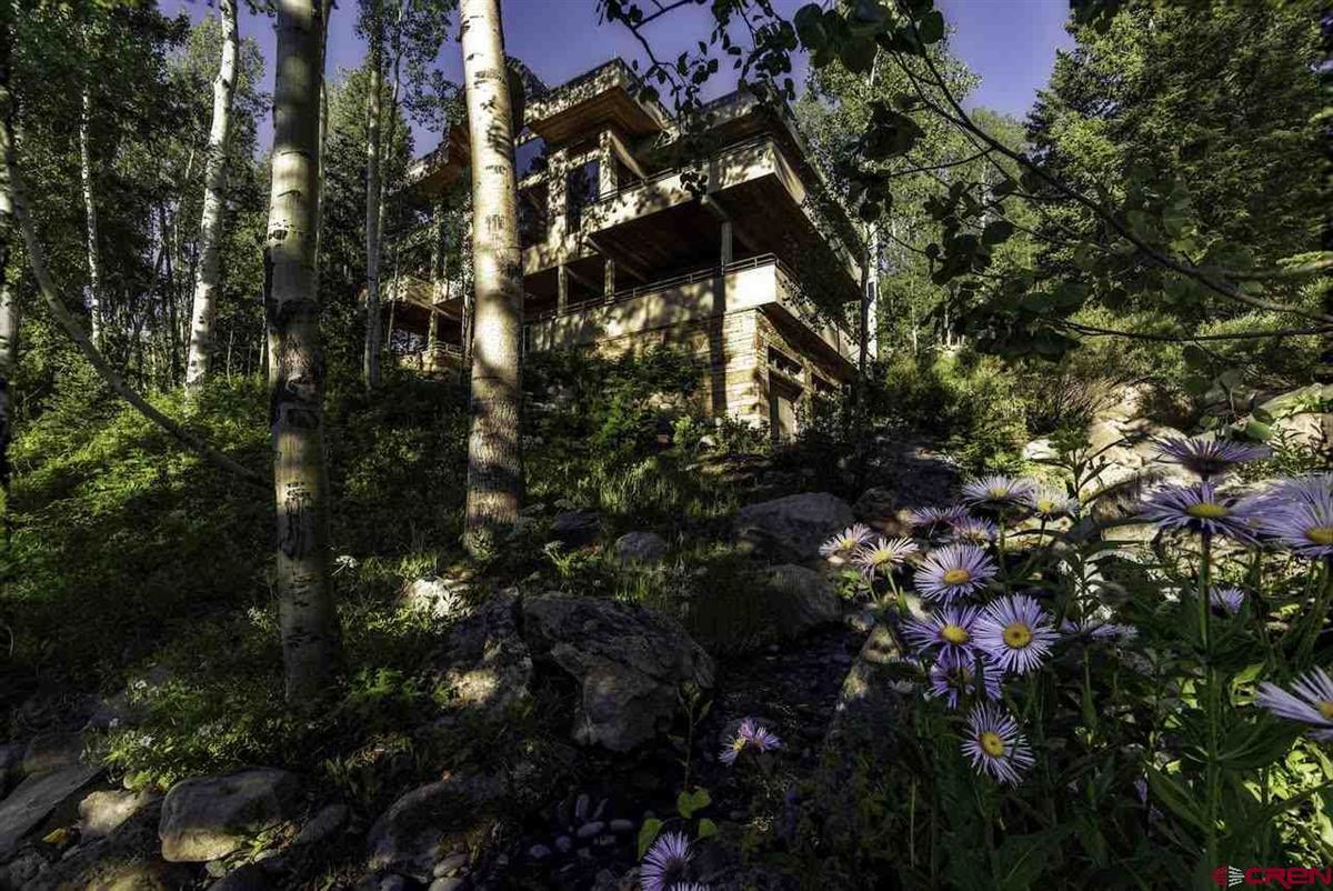 Luxury properties refined mountain home with commanding views