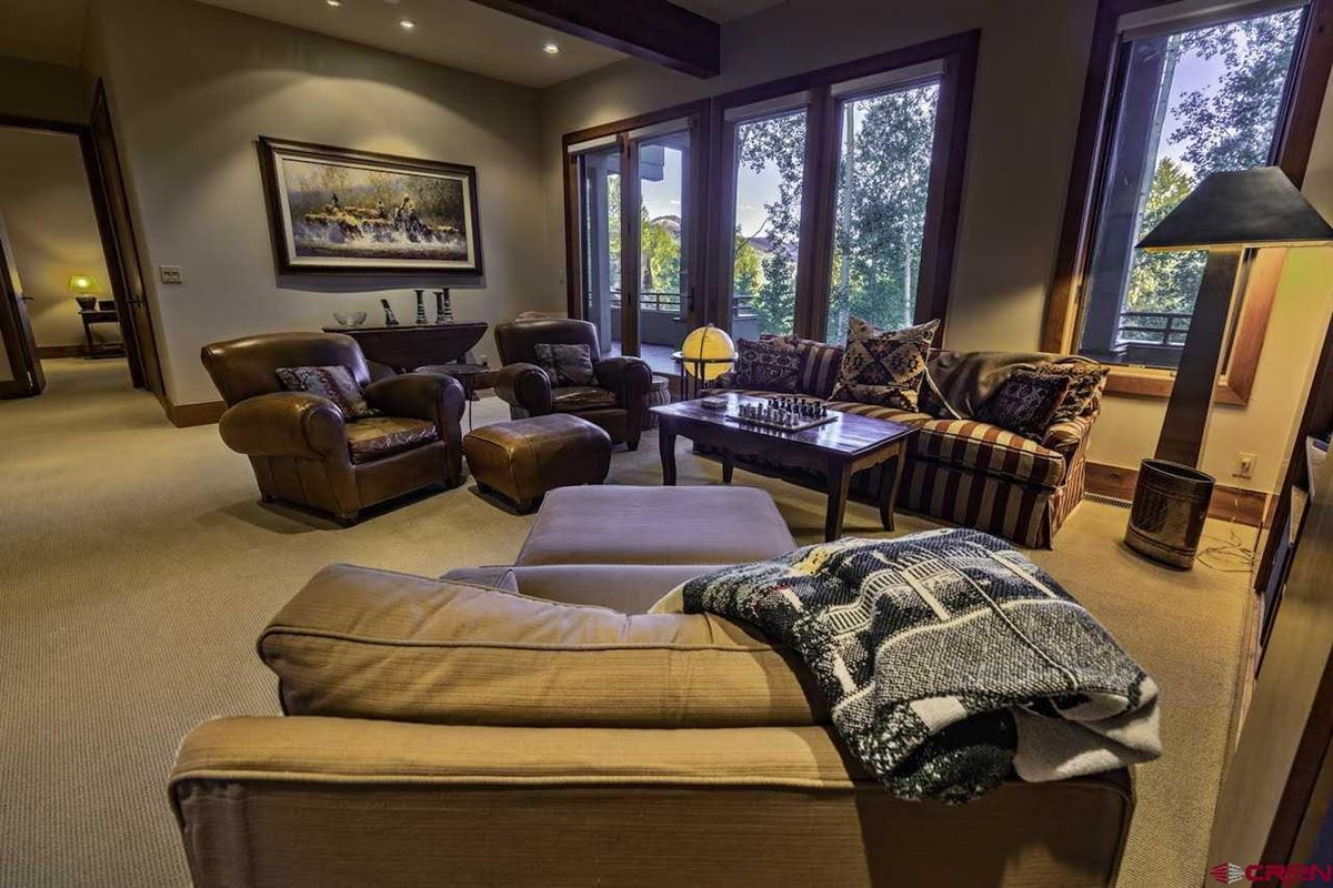 refined mountain home with commanding views luxury properties