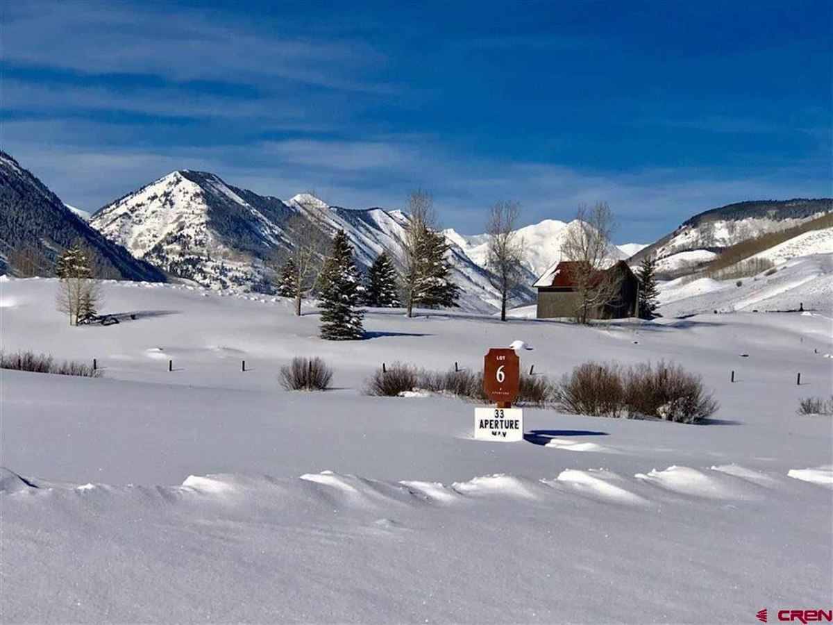 Mansions new construction home in crested butte