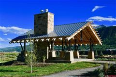 Luxury real estate new construction home in crested butte