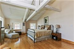 Direct waterfront penthouse luxury loft style condo luxury real estate