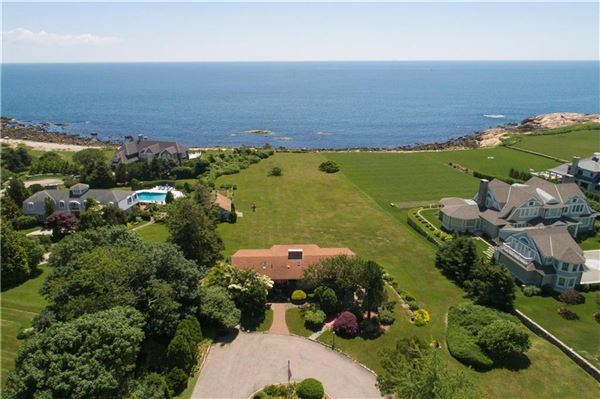 Mansions stunning oceanfront property in the famed Ocean Road Estate Area