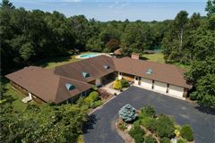 Luxury homes in custom-built contemporary ranch on over 26 acres