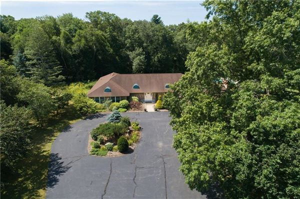 Luxury properties custom-built contemporary ranch on over 26 acres
