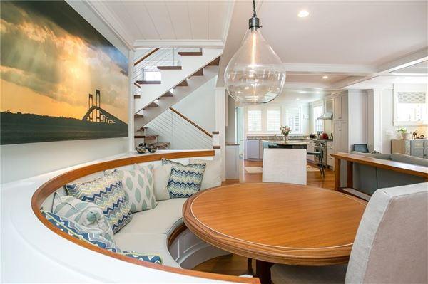 Luxury properties reminiscent of luxury yacht