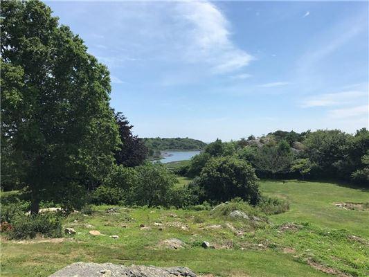 Luxury real estate 13.5 acre parcel sits Gooseneck Cove