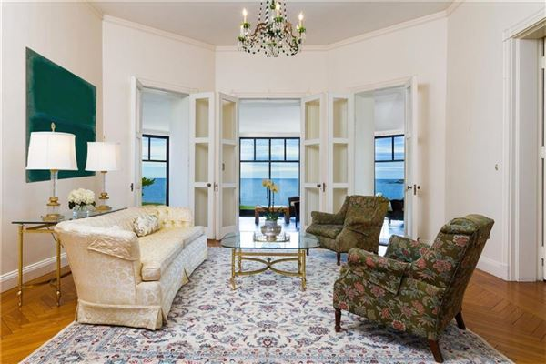 an iconic oceanfront estate  luxury homes