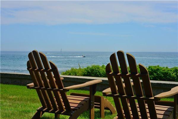 coastal enclave of Weekapaug mansions