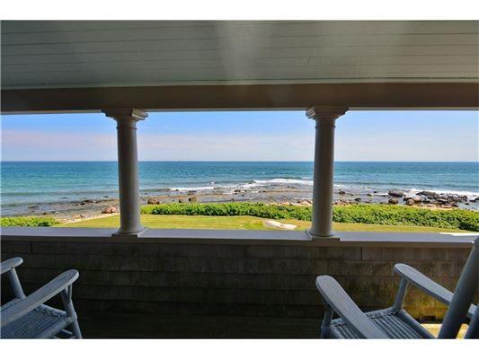 Luxury homes coastal enclave of Weekapaug
