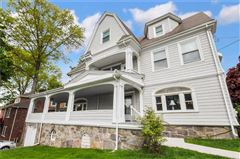 Grand Queen Anne Colonial revival style home luxury real estate