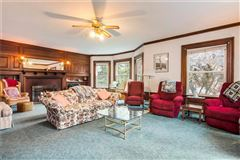 Luxury homes in Grand Queen Anne Colonial revival style home