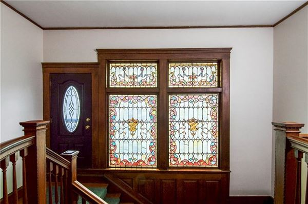 Luxury real estate Grand Queen Anne Colonial revival style home