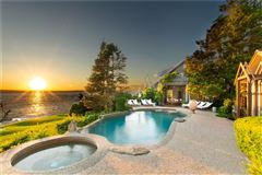 Luxury homes an extraordinary waterfront compound