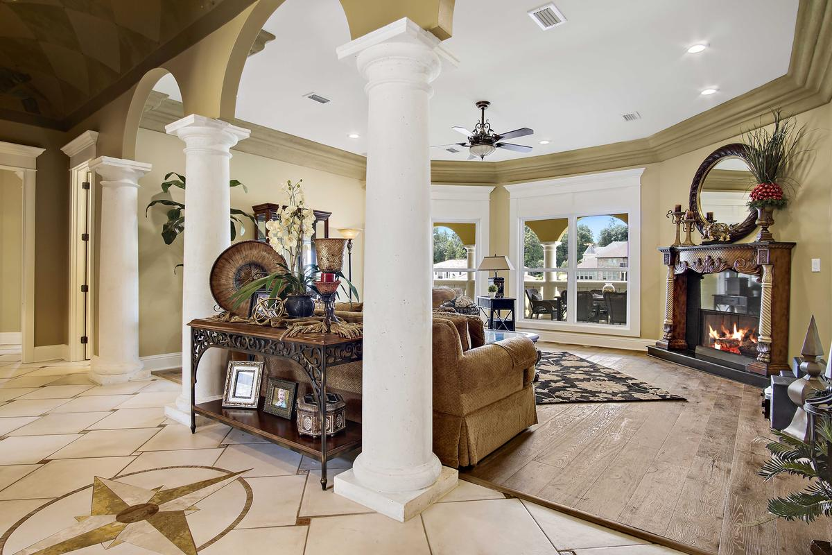 Italian Palazzo in Isle of Palms luxury homes