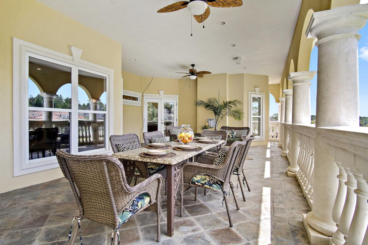 Italian Palazzo in Isle of Palms luxury real estate