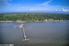 Luxury real estate a view of Mobile Bay