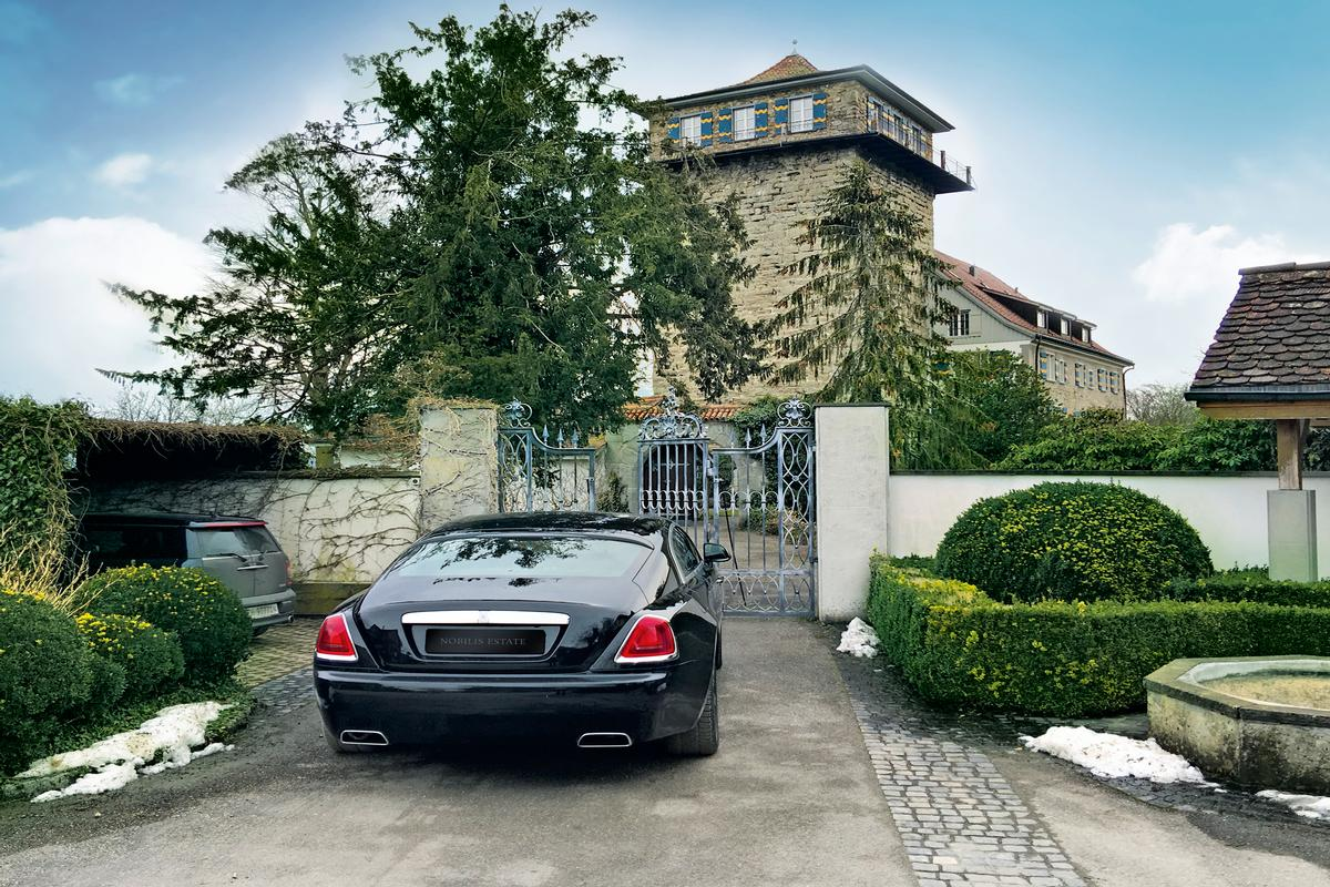 Luxury properties Luxurious castle with panoramic view