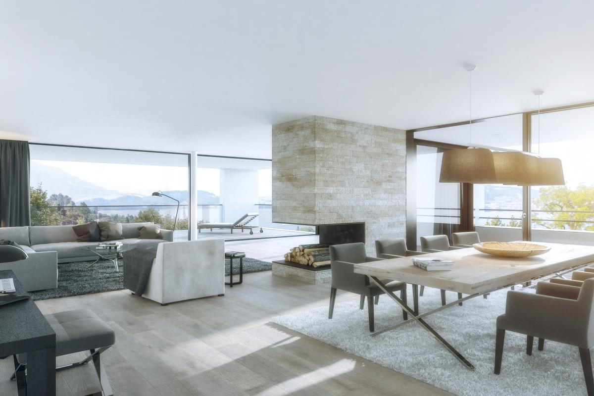 Luxury contemporary apartments – amazing interiors luxury homes