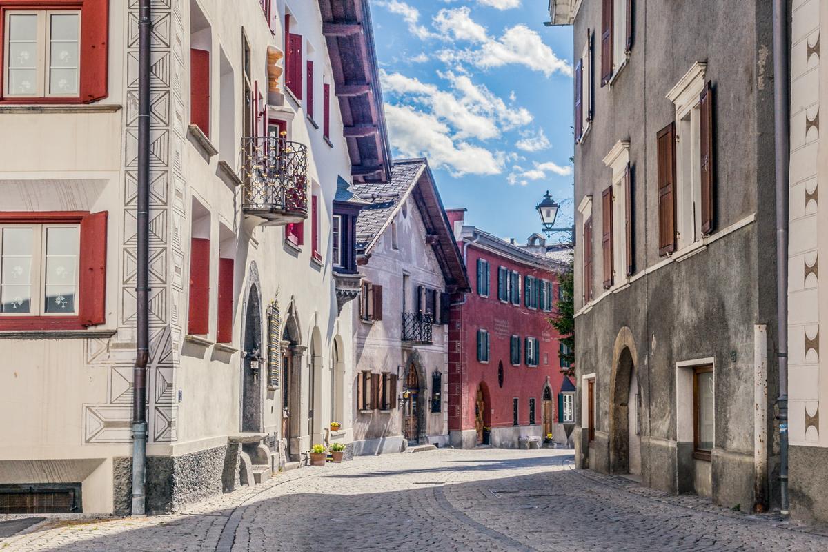 modern luxury duplex apartment near St. Moritz luxury properties