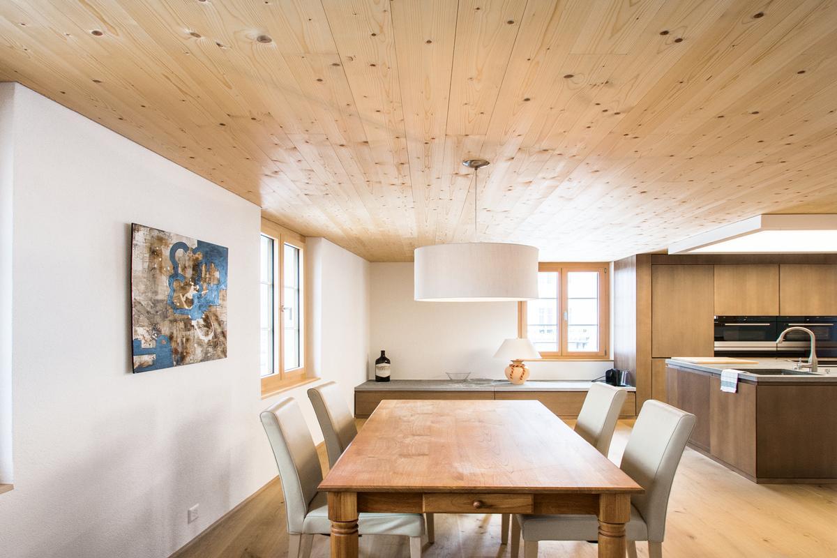 Luxury homes modern luxury duplex apartment near St. Moritz
