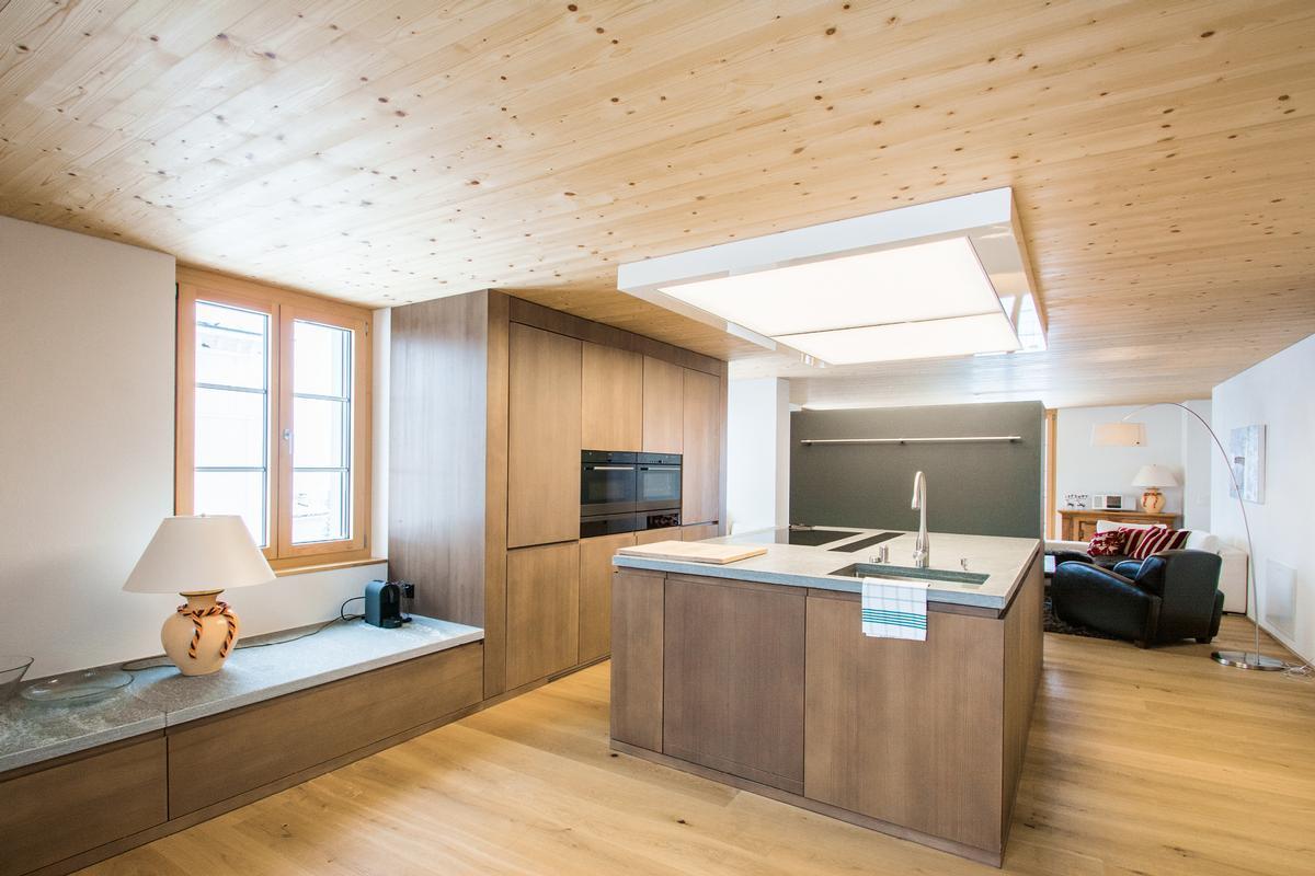 modern luxury duplex apartment near St. Moritz luxury homes