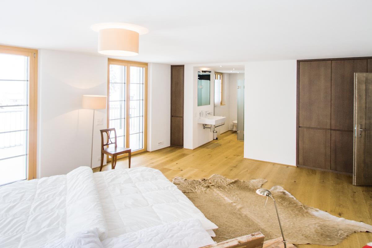 Luxury real estate modern luxury duplex apartment near St. Moritz