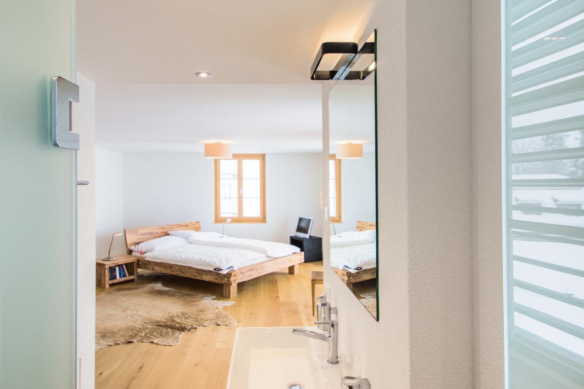 modern luxury duplex apartment near St. Moritz luxury real estate