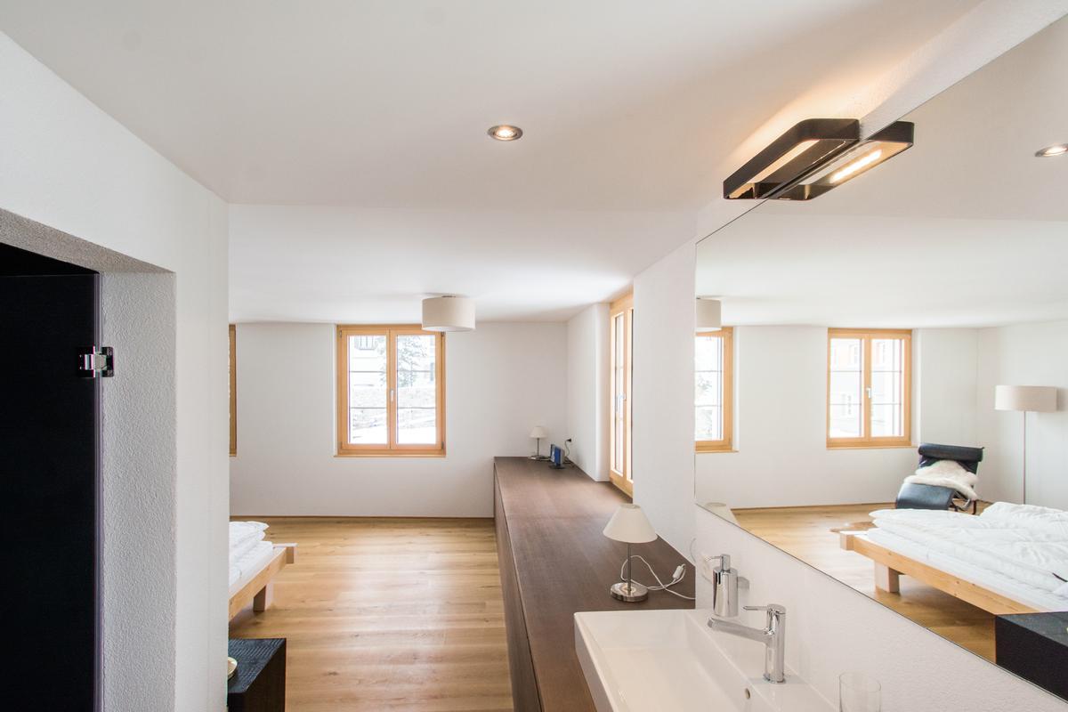 Luxury properties modern luxury duplex apartment near St. Moritz